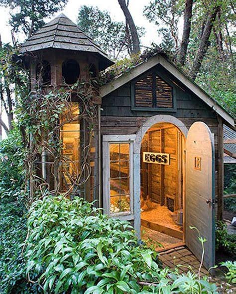 pretty chicken coop designs