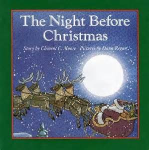 the night before christmas by clement c moore new ebay