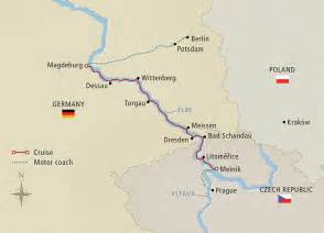 elbe river map