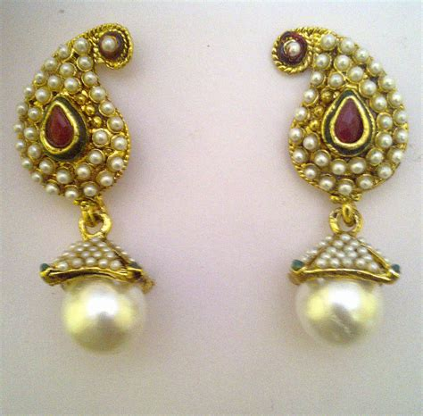 pearl jewelry collection with gold silver and
