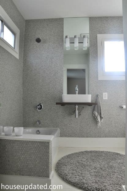 grey mosaic bathroom 54 best images about bathroom on pinterest