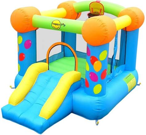 Happy Hop 9004b Air Baloon Hoop Bouncer Jump 1 duplay classic bouncer 9ft bouncy castle
