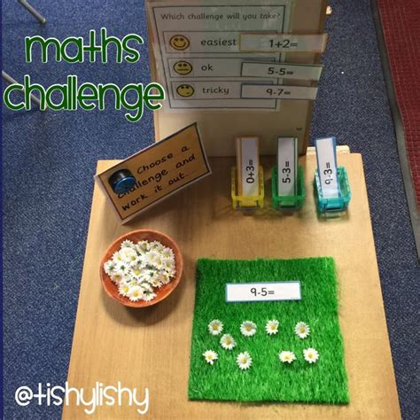 new year maths for eyfs maths challenge table this activity was an led the