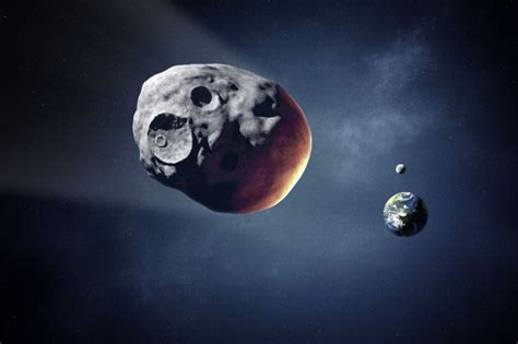 moon too close for comfort an asteroid buzzed by earth today