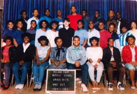 tupac roland park middle school baltimore md class