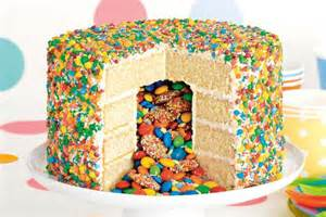 pinata party cake