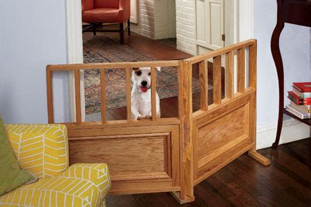 dog gates for small dogs in house how to build a dog gate this old house