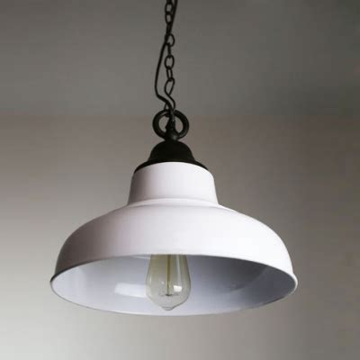 Trendy Pendant Lights 13 Wide White Shade Trendy Style Industrial Large Pendant Light For Dinning Room Beautifulhalo