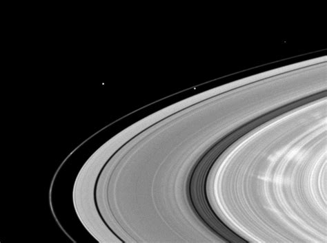 saturn ring spokes scientists find water creates the spokes in saturn s b