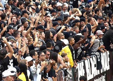 raiders black hole section oakland raiders black hole seats pics about space