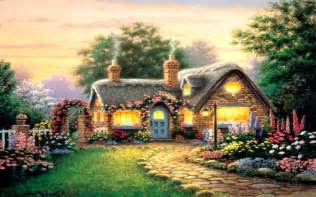 Cross Stitch Cottage by Beautiful Cottage Wallpapers New Hd Images