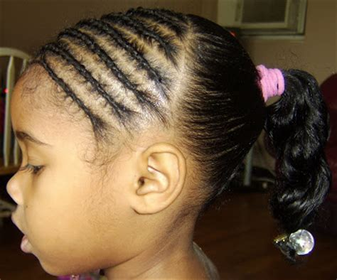 cornrow hairstyles half head sassy styles for kids half head cornrows simple w beads
