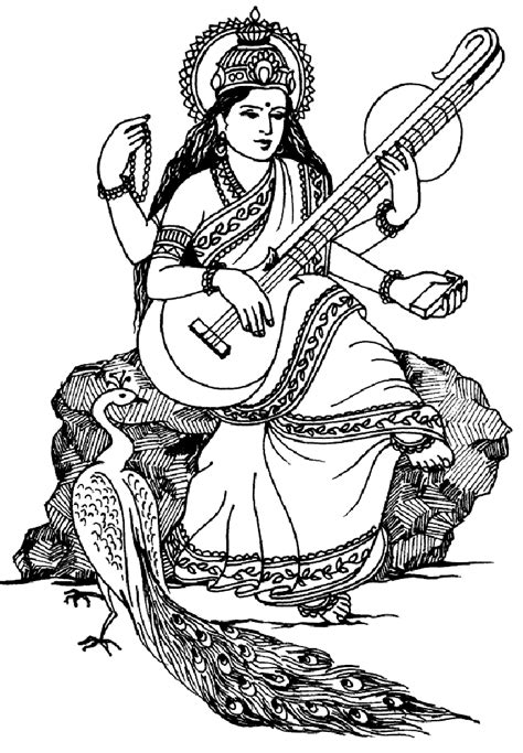 coloring page for india india saraswati india bollywood coloring pages for