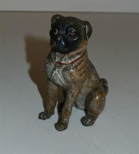 antique pug antique cold painted bronze figure c 1900 pug 136582 sellingantiques co uk