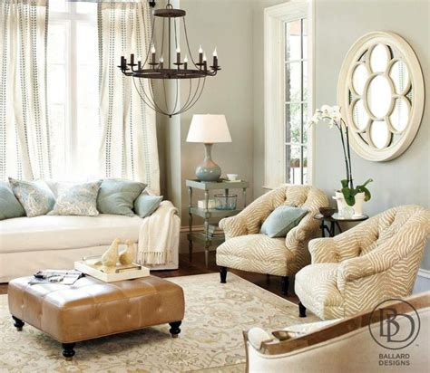 Blue And Neutral Living Room by Blue Accents Living Rooms And Blue On