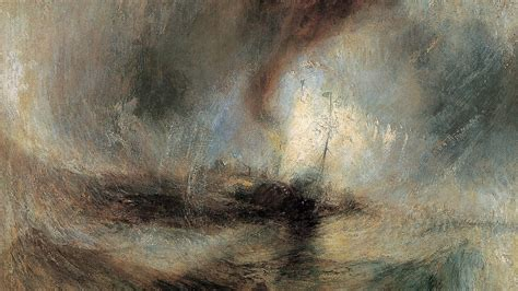 snow storm steam boat off a harbour s mouth jmw turner irony in steel wall street international