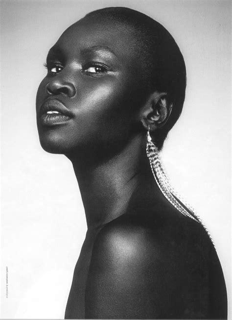 black female models 2014 alek wek a worm in horseradish