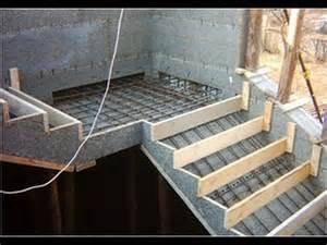treppen einschalen treppe selber bauen beton treppe betonieren treppe