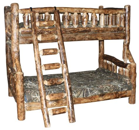 amish bunk beds amish log furniture rustic bunk beds
