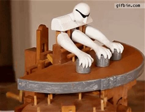 mechanical shell game player  funny gifs updated daily