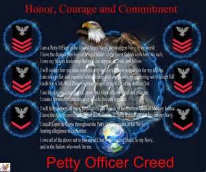 petty officer creed navy