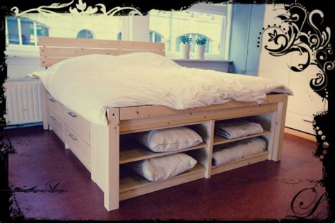 eenpersoonsbed waar je tweepersoonsbed van kan maken bed met opbergruimte i love my interior