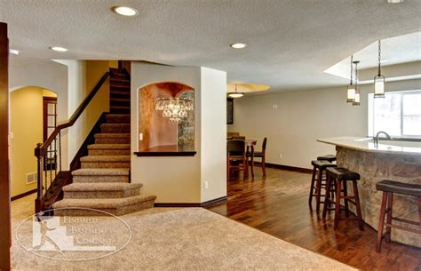 basement stairs bar traditional basement denver