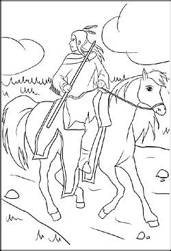 cowboys und indianer malvorlagen ausmalbilder