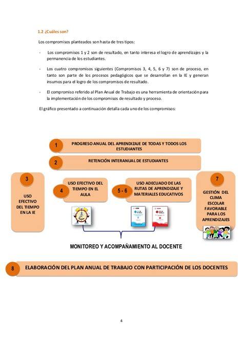 matriz de los 6 compromisos de gestion fasciculo de gestion escolar centrada en los aprendizajes