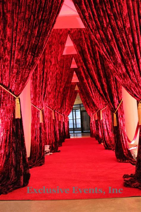 carpet and drapes image detail for red carpet entrance exclusive events