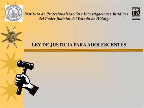 imagenes de justicia para adolescentes ley de justicia para adolescentes