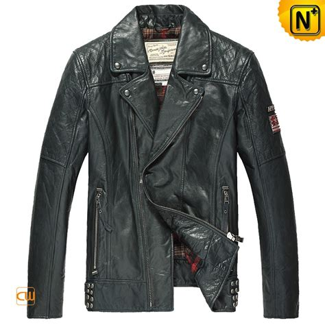 motorcycle style leather jacket distressed leather motorcycle jacket mens cw850211