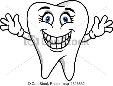 tooth coloring page small humans natural teeth