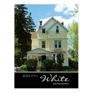 yellow house realty tall yellow real estate house business card zazzle