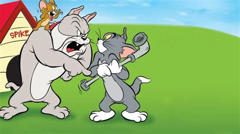 tom jerry dog house tom and jerry in the dog house wallpapers13 com