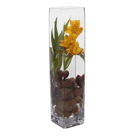 floreros de vidrio altos floreros de vidrio altos jarrn florero alto with floreros