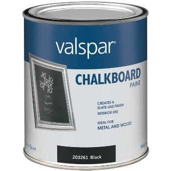 chalkboard paint quart buy the valspar mccloskey 410 0068008 005 chalkboard paint