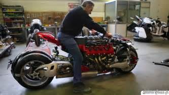 Maserati Motorcycle For Sale 4 Wheeled Maserati V 8 Powered Motorcycle Insanity