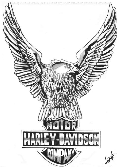 Harley Davidson Drawings by Pencil Drawings Harley Davidson Motorcycles Car Interior