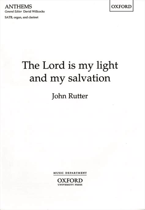 the lord is our salvation large print a lenten study based on the revised common lectionary scriptures for the church seasons books the lord is my light and my salvation