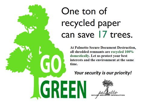 Why Go Green Essay by Palmetto Secure Document