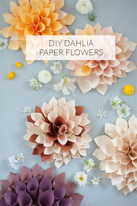 How To Make Paper Flower Decorations - diy paper flowers diy wedding decor 100 layer cake