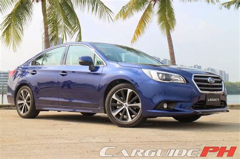 subaru philippines first drive 2015 subaru legacy 2 5i s and outback 2 5i s
