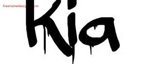What Does The Name Kia Graffiti Name Designs Kia Free Lettering Free