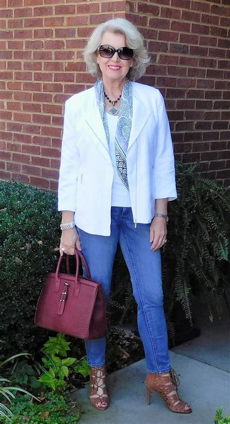 jean outfits for women in their 60s 18 outfits for women over 60 fashion tips for 60 plus women