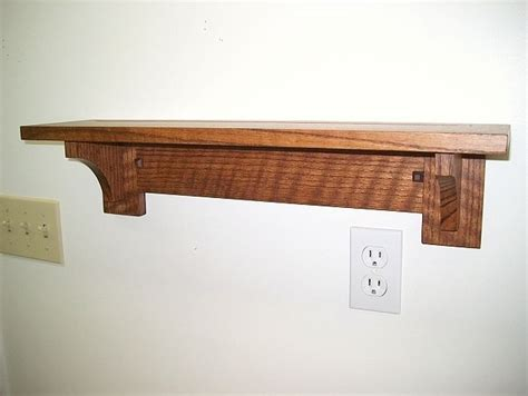 Mission Style Shelf by Mission Arts Crafts Style Plate Shelf By Max