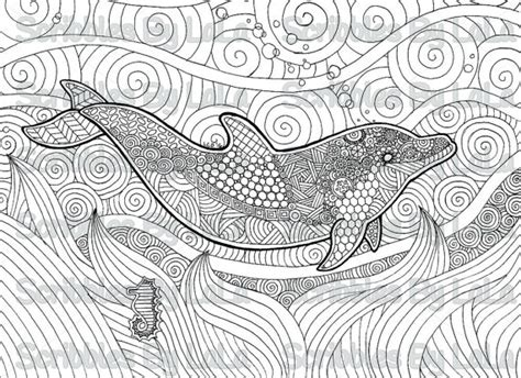 coloring pages for adults dolphins printable adult coloring page dolphin high quality pdf