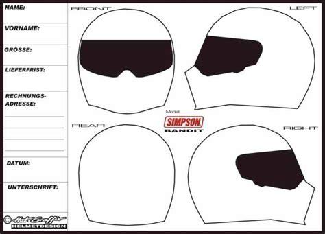 Helmdesign Vorlage Helmdesign Helmlackierungen Hotgraffix