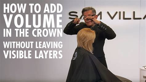 how to add height to hair how to add volume in the crown without any visible