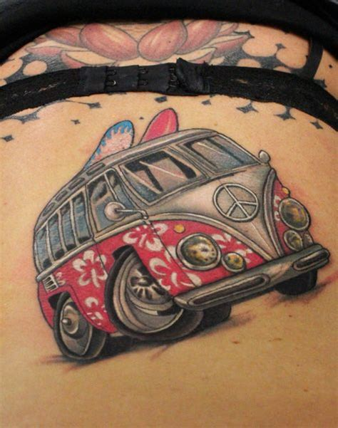 volkswagen bus tattoo volkswagen bus tattoo google search tattoo pinterest